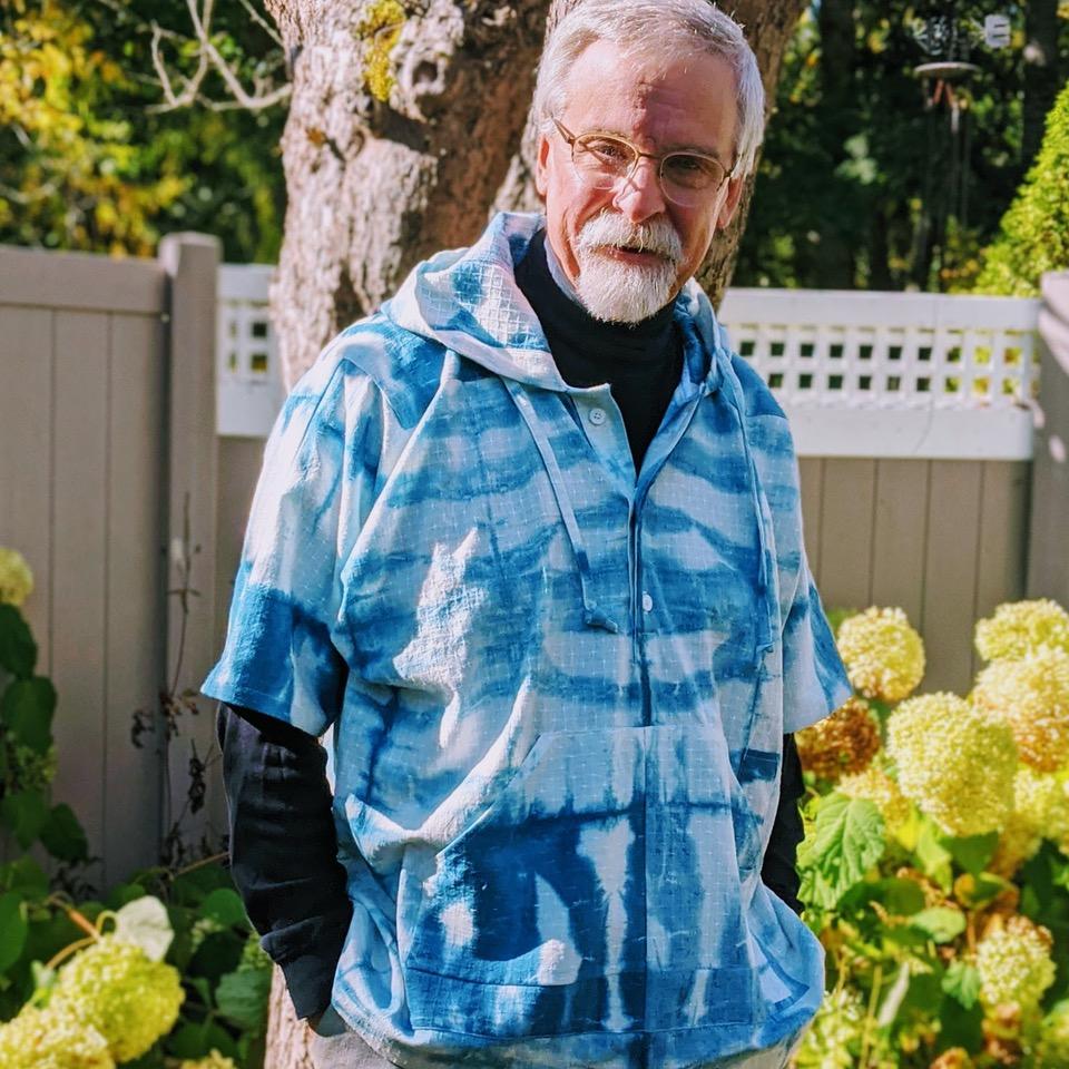 Sawyer Hoodie worn by Duane of Mainelymenswear