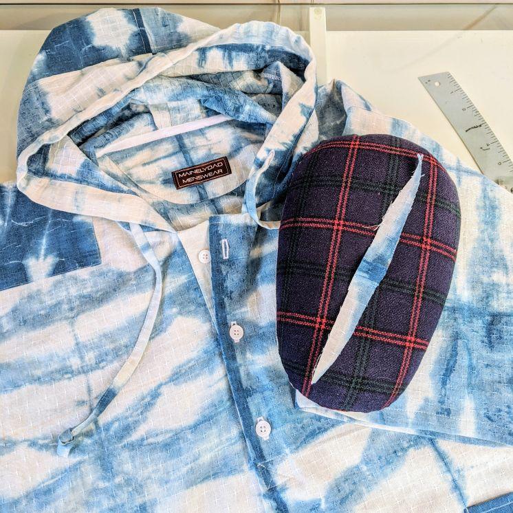 Sawyer hoodie by Duane of Mainelymenswear