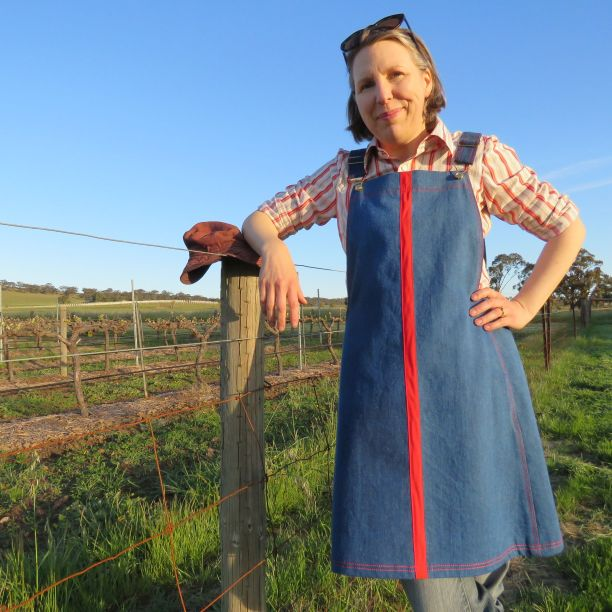 Smith Pinafore dress original prototype