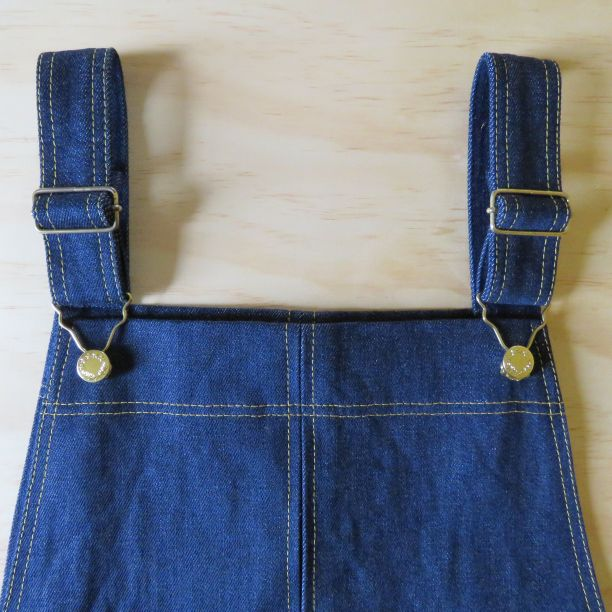 Smith Pinafore dress slot seam