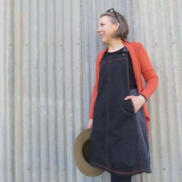 smith pinafore dress