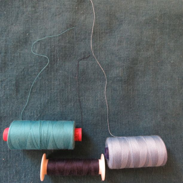 Cendre top blooper reel trying to find the right thread colour