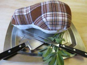sewing a pork chop