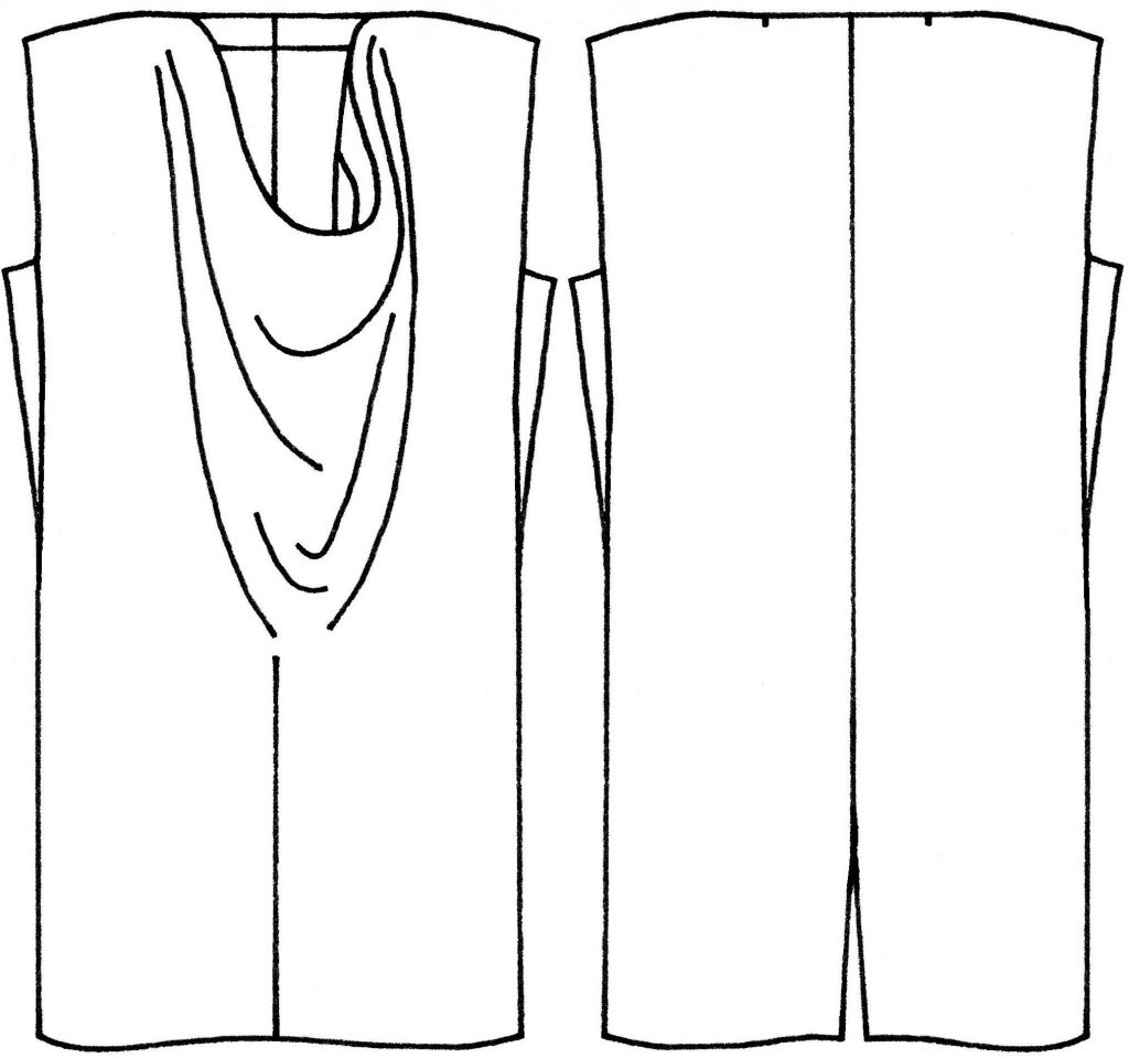 Ursa dress sketch