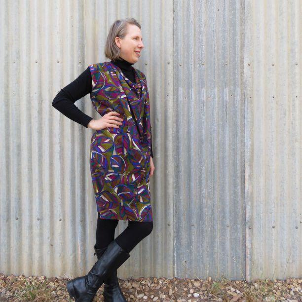Ursa dress in challis