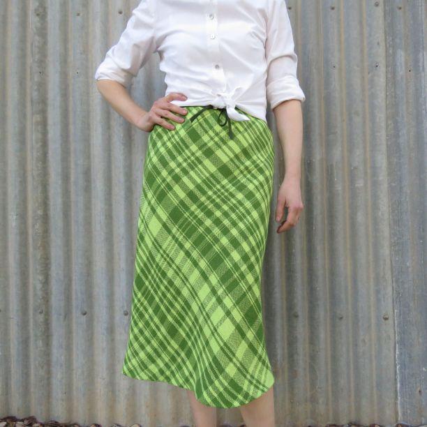 Ashford spiral skirt