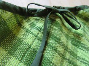 Ashford spiral skirt closeup