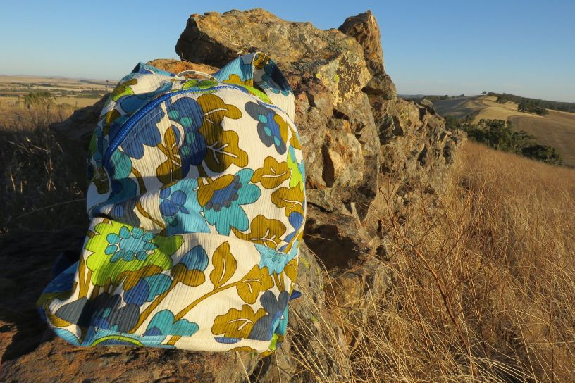 Floral Compact backpack
