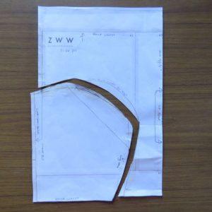 Pattern for new zero waste undies now full briefs
