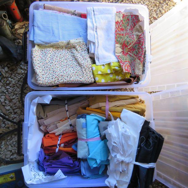 Two usable scrap bins