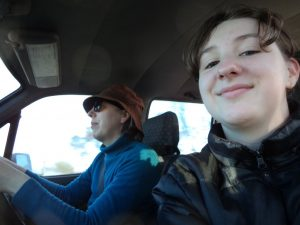 On the road, to KSW's Fibre Craft retreat
