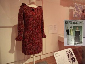 Mary Quant homesewn dress