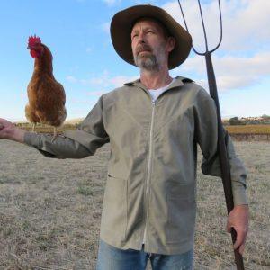 Sandie shirt with zip and chicken