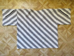 Xanthea in stripes back
