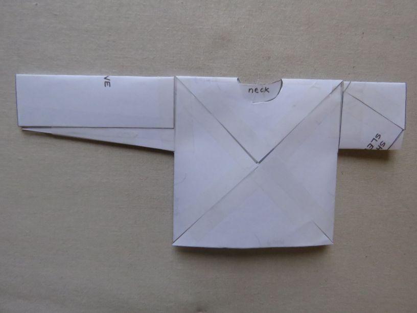 Xanthea paper model