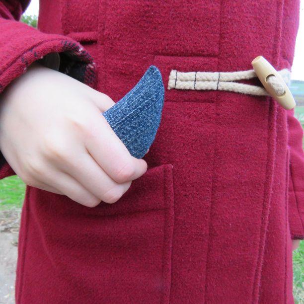 heat bag hand warmer with coat