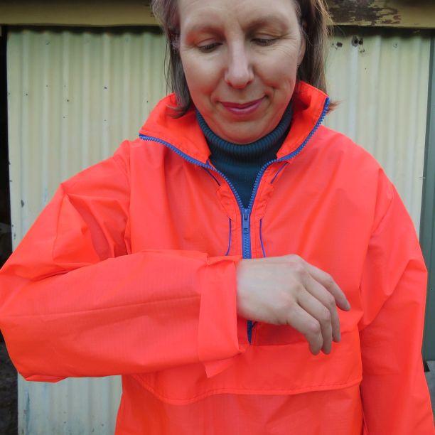 Sleeve length on Kiabi zero waste windcheater