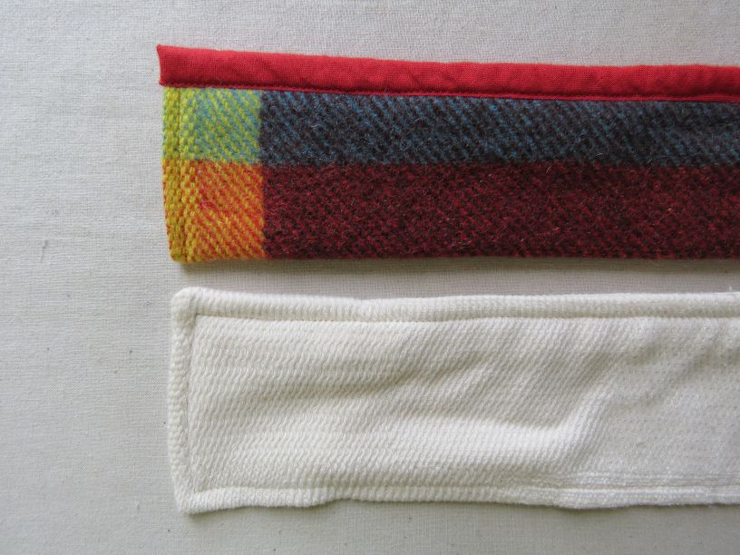 Belts for Zero Waste bathrobe and coat
