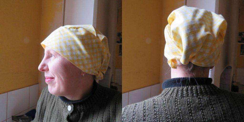 New bigger scrubs hat