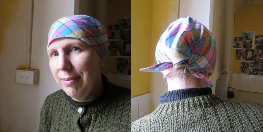 Original scrubs hat pattern